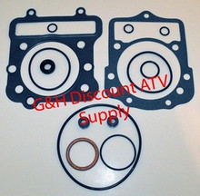 1988-2004 Kawasaki KLF300 Bayou Top End Gasket Kit *FREE U.S. SHIPPING*
