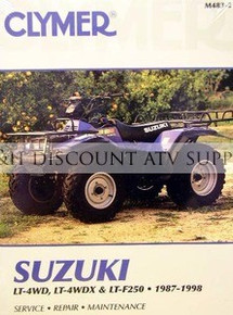 Suzuki LTF250 LT4WD Quadrunner Repair Manual