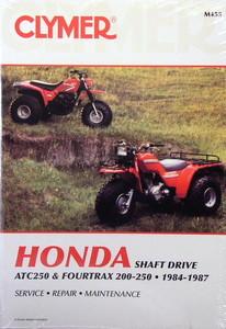 honda atv trx 200 trx250 fourtrax clymer repair manual g h rh ghdiscountatvsupply com 1992 Honda FourTrax 200 Honda FourTrax 350