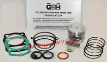 Honda Atc 200X TRX 200SX Cylinder Top End Rebuild Kit Machining Service