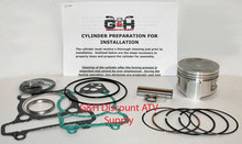 Yamaha YFM225 Moto-4 Cylinder Machining Service & Top End Rebuild Kit