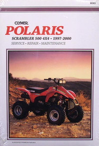 Polaris Scrambler 500 4x4 Repair Manual NEW!