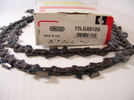 "Oregon Sawchain Loop 72LGX072G 3/8 050 gauge 1.3 mm 72 link 20"" Jonsered Husqvarna"