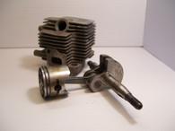 Cub Cadet MTD Trimmer CC2000 2000 CC3000 Cylinder Piston w/ Cranksaft Used