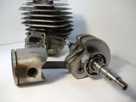 Partner Chainsaw Piston Crankshaft & Cylinder S50 Used