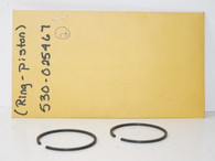 Poulan chainsaw piston ring 530025467  2300CVA ring early NOS