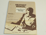 Heathkit 595-1679-03 book 1  Inline Gun/Slotted Mask Television Manual  Book 2
