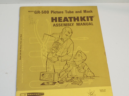 595-1678-03  Gr-500  heathkit manual