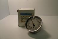 Ashcroft Gauge 63 1008 AL 02B XVC VAC-5880 63MM 1/4 NP 30 HG NOS