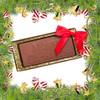 """""""Merry Christmas"""" Chocolate Bar"""