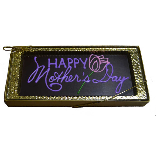 Custom Decorated Happy Mothers Day Chocolate Bar
