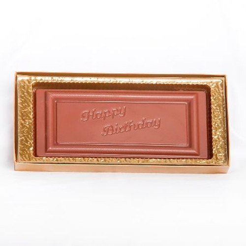 Large Happy Birthday Bar