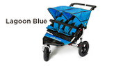 Out 'n' About Nipper Double V4 Buggy - Lagoon Blue