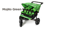 Out 'n' About Nipper Double V4 Buggy - Mojito Green