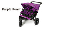 Out 'n' About Nipper Double V4 Buggy - Purple Punch