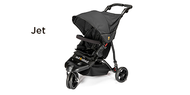 Out 'n' About Little Nipper Buggy - Jet Black