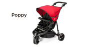 Out 'n' About Little Nipper Buggy - Poppy Red