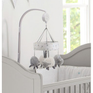 East Coast Silvercloud Cot Mobile - Counting Sheep