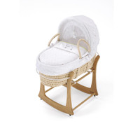 East Coast Silvercloud Moses Basket - Counting Sheep