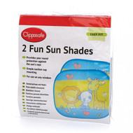Clippasafe - Fun Sun Screens (2 Pack)