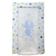 Silvercloud Love Colour Elephant Spot Changing Mat - Blue