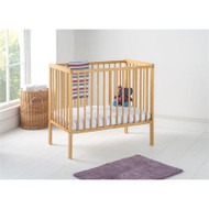 East Coast Carolina Space Saving Cot with Mattress - Antique