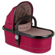 iCandy Peach Main Carrycot Claret Black  Chassis
