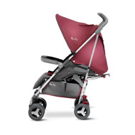 Silver Cross Reflex Pushchair (SILVER CHASSIS) - VINTAGE RED