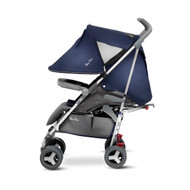 Silver Cross Reflex Pushchair (SILVER CHASSIS) - VINTAGE BLUE