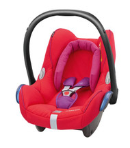 Maxi-Cosi Cabriofix Carseat + EasyFix Package Deal - Redorchid