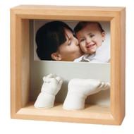 Baby Art  - My Sculpture Frame - Honey