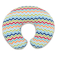 Chicco Boppy Pillow With Cotton Slipcover - Chevron