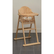 East Coast Folding Highchair - Natural
