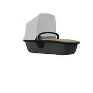 Quinny Lux Carrycot - Sand on Graphite