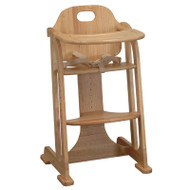 East Coast Multi-Height Highchair - Natural