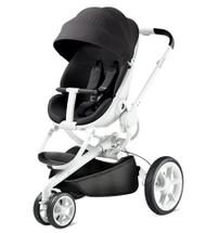 Quinny Moodd Pushchair + Maxi Cosi Pebble Car Seat Package - Black Irony