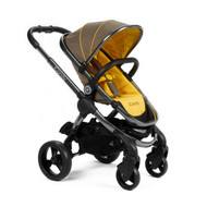 iCandy Peach Pushchair - Honeycomb + Maxi-Cosi Cabriofix Car Seat + Universal Adapters