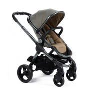 iCandy Peach Pushchair - Olive + Carrycot + Maxi-Cosi Cabriofix Car Seat + Universal Adapters