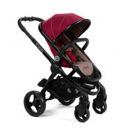 iCandy Peach Pushchair - Claret + Carrycot + Maxi-Cosi Cabriofix Car Seat + Universal Adapters