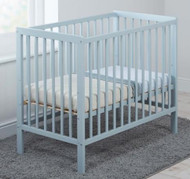 East Coast Carolina Space Saving Cot with Mattress - Blue