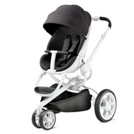 Quinny Moodd Pushchair + Free Rock Infant Carrier- Black Irony