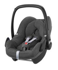 Maxi-Cosi Pebble Car Seat + familyfix Package Deal - Sparkling Grey