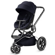 Quinny Moodd Black Frame Pushchair - Midnight Blue