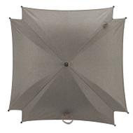 Silver Cross Wave Parasol - Sable