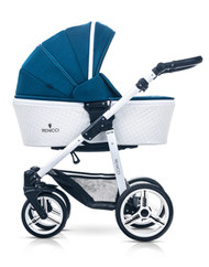 Venicci Pure Collection 3 in 1 Travel System - Ocean Blue