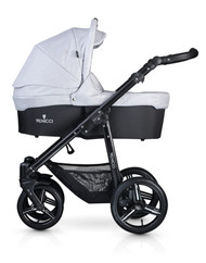 Venicci Soft Edition 3 in 1 Travel System - Light Grey