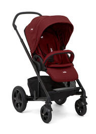 Joie Chrome DLX & carrycot  & I-Gemm - Cranberry