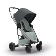 Quinny Zapp Flex Plus + Lux Carrycot + Pebble Plus + Changing Bag  - Graphite on Grey