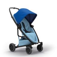 Quinny Zapp Flex Plus + Lux Carrycot + Pebble Plus + Changing Bag - Blue on Sky