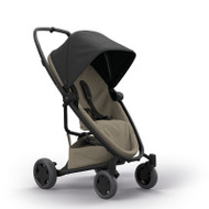 Quinny Zapp Flex Plus + Lux Carrycot + Pebble Plus + Changing Bag - Black on Sand